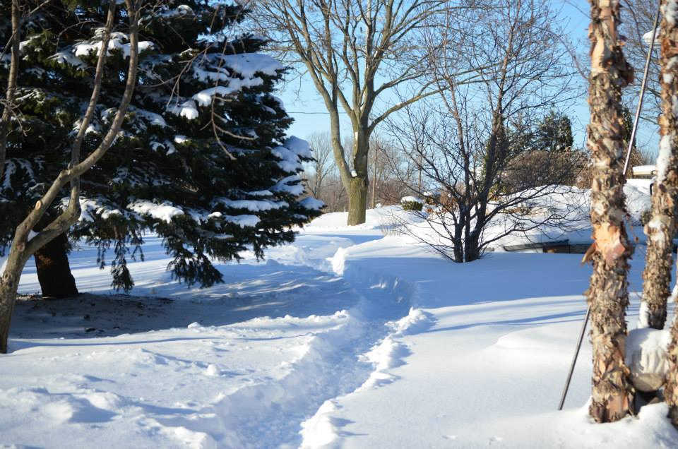 Snow & Below Zero Temps in McHenry County