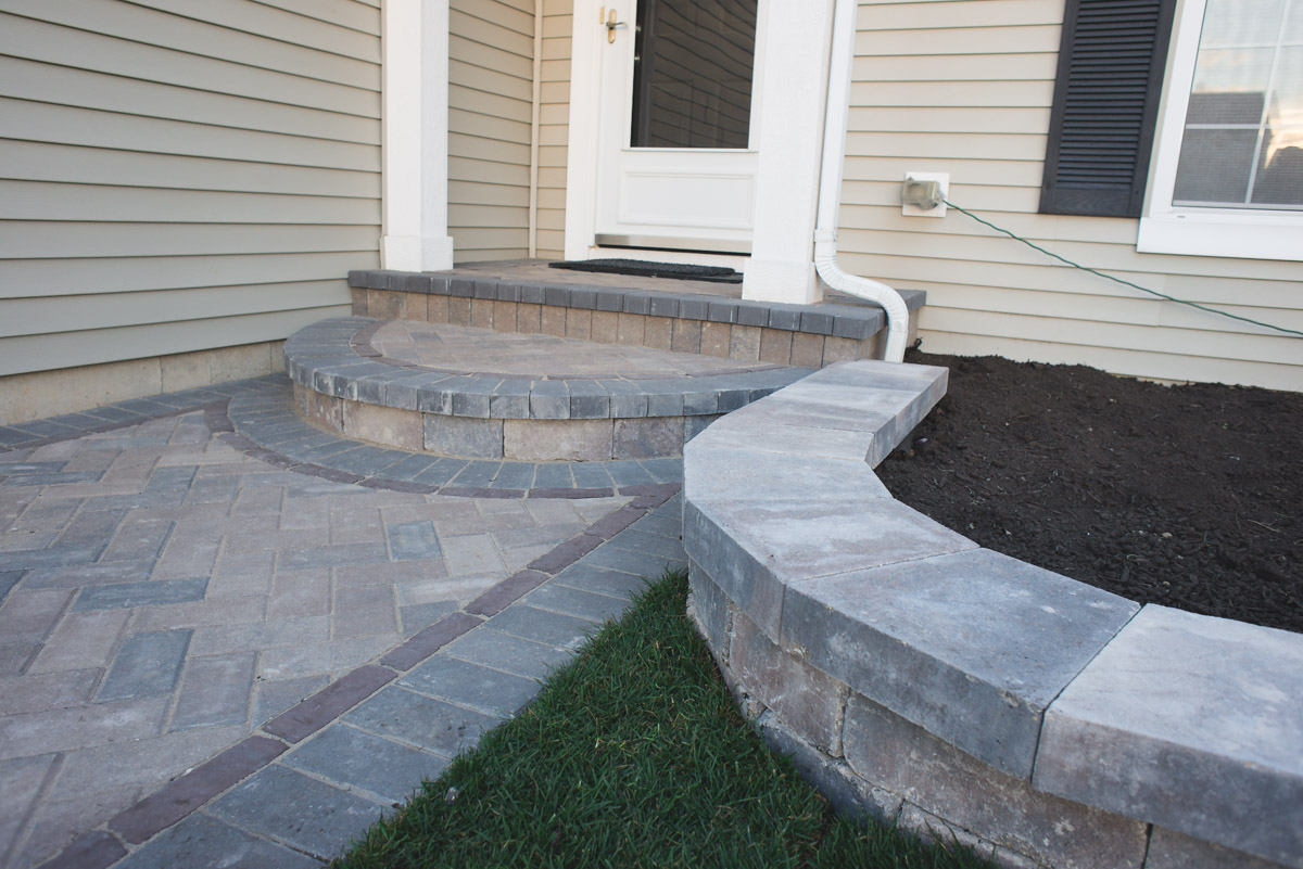 Brick Driveway Installation | McHenry County Brick Work